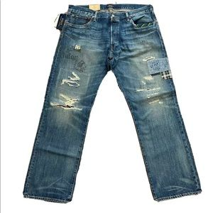 Polo Ralph Lauren The Classic Fit Distressed Jeans